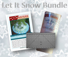 Let It Snow Bundle includes: (1)15 yard roll of Battilizer, (1) Trimmer By George 2.0 and (1) Let It Snow design on CD!