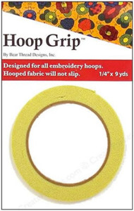 Hoop Grip stops shifting in the hoop.