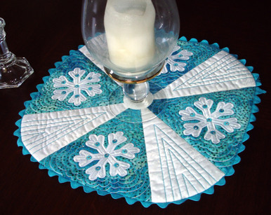 Let It Snow Table Mat