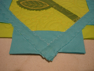 Add a continuous pairie point border to any quilt!