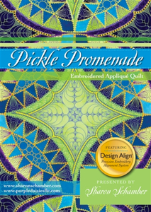 Pickle Promenade Embroidered Applique