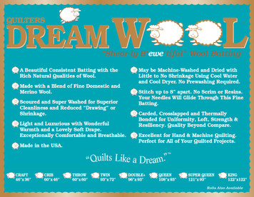 Dream Wool Precut Package - Twin