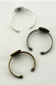 Silver Clasp Bracelet (DropShip)