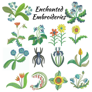 Enchanted Embroidery - CD Media