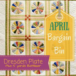 Bargain Bin SALE: Dresden Plate