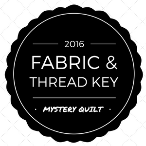 2016 Mystery Quilt Fabric & Thread Key and FAQ