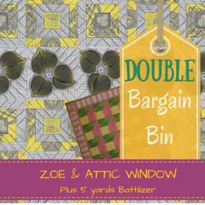 Double Bargain Bin SALE: Zoe Attic Window
