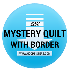2016 Mystery Quilt with border - Download (PRE-ORDER)