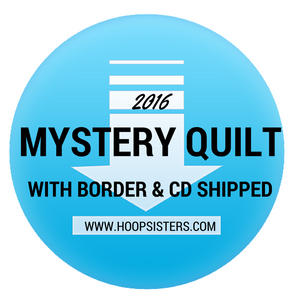 2016 Mystery Quilt with border - CD Media (PRE-ORDER)