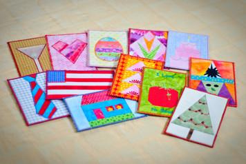 Hooped Post Cards - CD Media