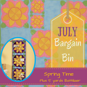 July Bargain Bin SALE: Spring Time