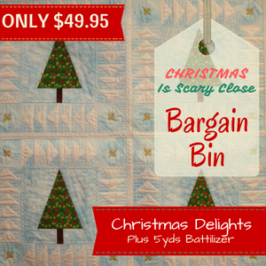 October Bargain Bin SALE: Christmas Delights