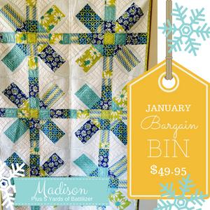 January Bargain Bin SALE: Madison