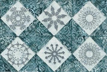 January Snowflakes