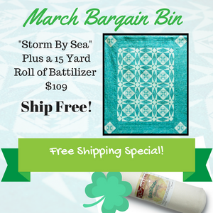March BIG Bargain Bin SALE: Storm By Sea