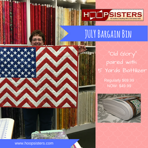 JULY Bargain Bin SALE: Old Glory