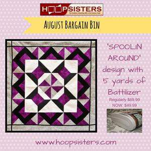 August Bargain Bin SALE: Spoolin Around