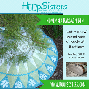 November Bargain Bin: Let It Snow