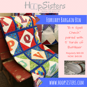 February Bargain Bin: B4 Spell Check