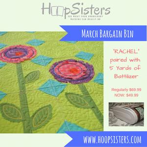 March Bargain Bin: Rachel + 5yds Battilizer
