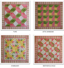 2012 Mystery Quilt Break Out Titles