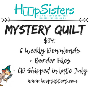 2018 Mystery Quilt Download + Border Files + CD