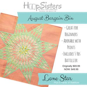 August Bargain Bin SALE: Lone Star