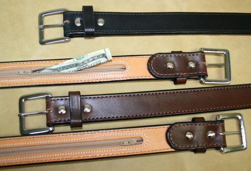 "Latigo Canyon Money Belt - 1-1/2"" Width"