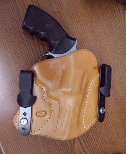 """Texas Heritage"" IWB Revolver Holster"