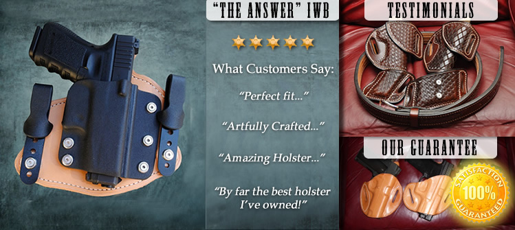 Leather Holsters | Custom Gun Holster | Concealed Carry Holster ...