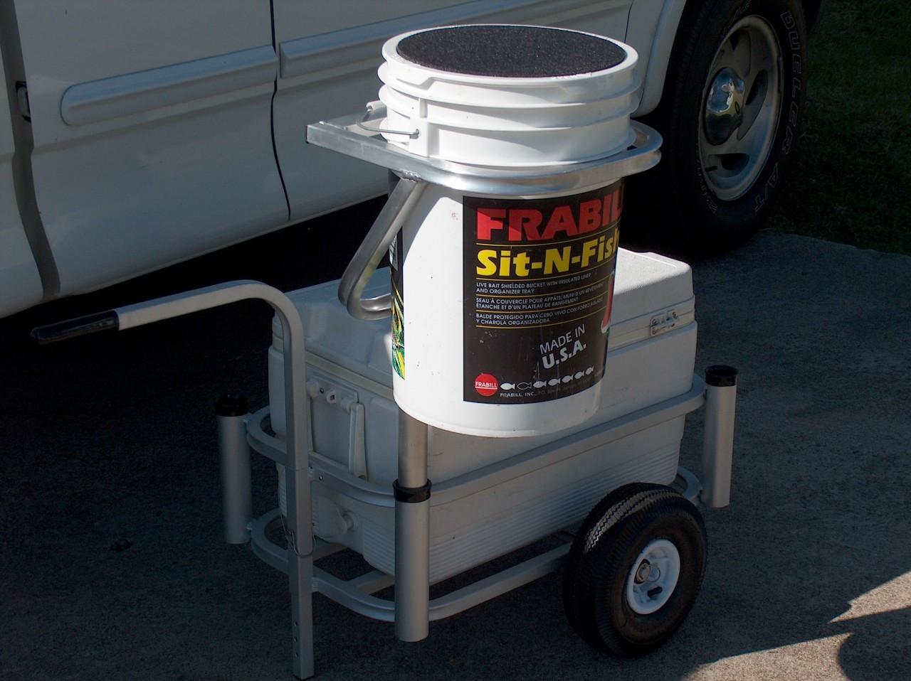 Bucket ring carts angler 39 s fish n mate store for Fish n mate