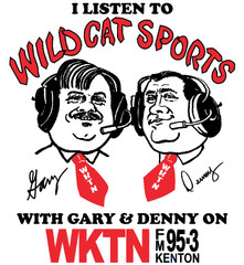 I Listen to Wildcat Sports with Gary & Denny on WKTN Artwork