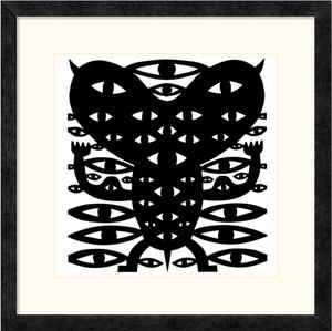 Eye Monster| Jad Fair | Ebony Frame