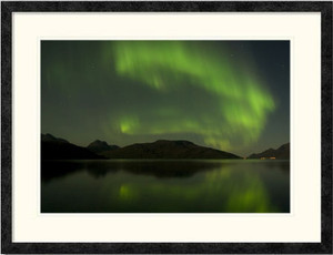 Northern Lights | Lene Foss | Ebony frame