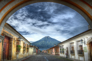 Through the Archway, Antigua, Guatemala | Dave Wilson 100% of artist proceeds of Through the Archway will be donated to CESSMAQ