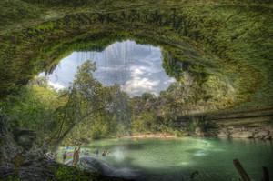 Hamilton Pool, Austin, Texas| Dave Wilson A popular swimming hole in Austin, Texas