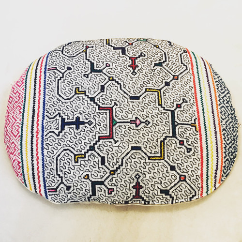 Shipibo Meditation Cushion