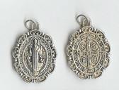 XL Saint Benedict ANTIQUE Medal