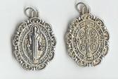 MED Saint Benedict ANTIQUE Medal