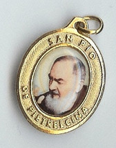 Close-Up of Padre Pio Giving His Blessing - Picture 1