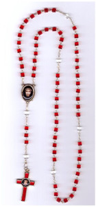Precious Blood Chaplet (Square Beads)
