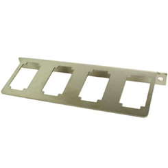 Manual Panel 4 Paddle Valve Mount - 01-PAN-4PAD-TAG