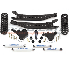 "2008-10 FORD F250 W/ V10 OR DIESEL 2WD 6"" PERFORMENCE SYSTEM W/ PERFORMENCE SHOCKS-FABTECH K2063"