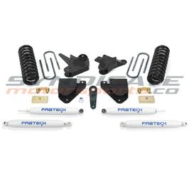 "2008-10 FORD F250 V10 OR DIESEL 2WD 6"" BASIC SYSTEM W/ PERFORMENCE SHOCKS-FABTECH K2062"