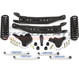 "2005-07 FORD F250 V10 OR DIESEL 2WD 6"" PERFORMANCE SYSTEM W/ PERFORMANCE SHOCKS-FABTECH K2061"