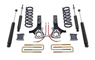 "MAXTRAC - 2002-08 RAM 1500 2WD 5 LUG 7""/4"" LIFT KIT W/ MAXTRAC SHOCKS (4.7 V8): K882170"