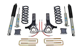 "MAXTRAC - 2002-08 RAM 1500 2WD 7"" LIFT KIT W/BILSTEIN SHOCKS: K882170B"
