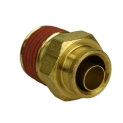 "ALKON - 3/8"" HOSE 3/8"" NPT STRAIGHT PUSH-TO-CONNECT: 05-BF38-3"