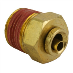"""ALKON - 1/4"""" HOSE 3/8"""" NPT STRAIGHT PUSH-TO-CONNECT: 05-BF14-5"""