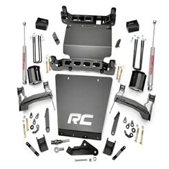 "ROUGH COUNTRY - 2014-UP GM 1500 2WD 7"" BRACKET KIT | LIFT KIT: 295.20"